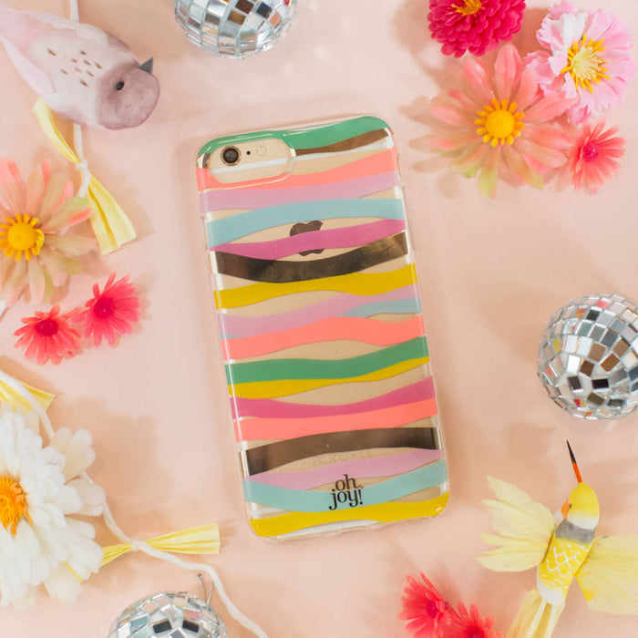Oh Joy! Phone Case <br> Multi Stripes