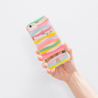 Oh Joy! Phone Case Multi Stripes