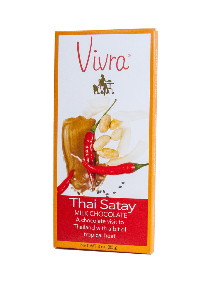 Thai Satay Chocolate Bar
