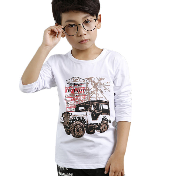 Boy T shirts for Children Cotton Summer  3D Printed tees