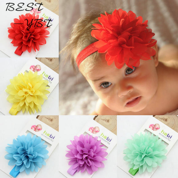 Kids Flower Headband Baby Hair Accessories