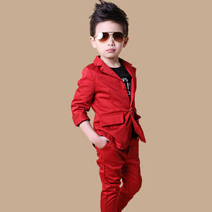 Free shipping High-quality classic formal boys wedding suit