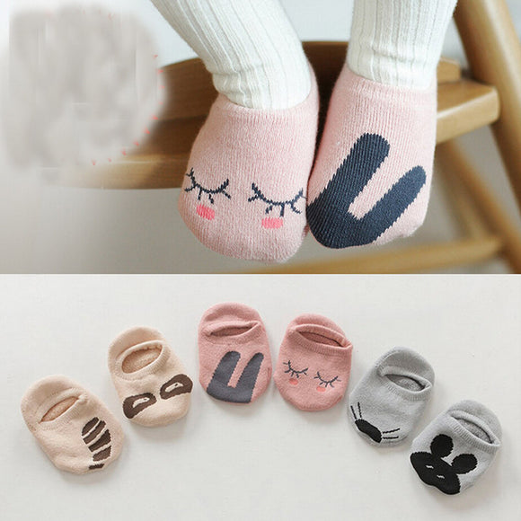Baby socks floor kids Children cutu animal rabbit