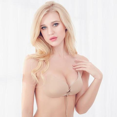 INVISIBLE Strapless Drawstring Bra