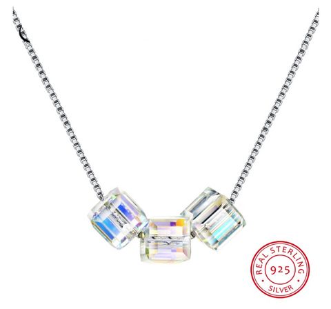 Three Marvel Crystals™ 925 - e-Schmuck