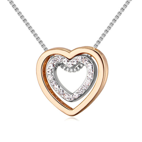 Double Heart 18K™ - e-Schmuck
