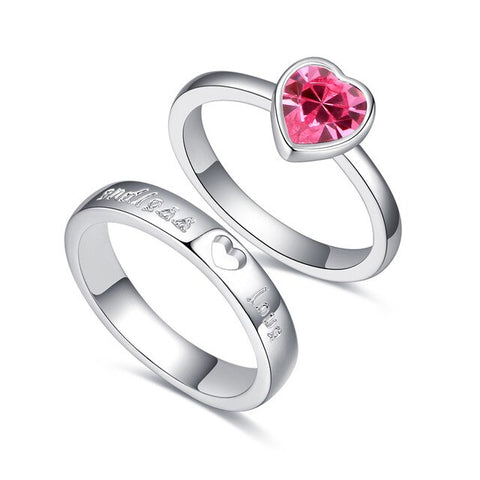 Romantic Double Ring™ - e-Schmuck