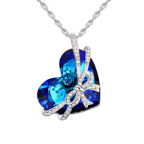 Luxury Blue Heart™ - e-Schmuck