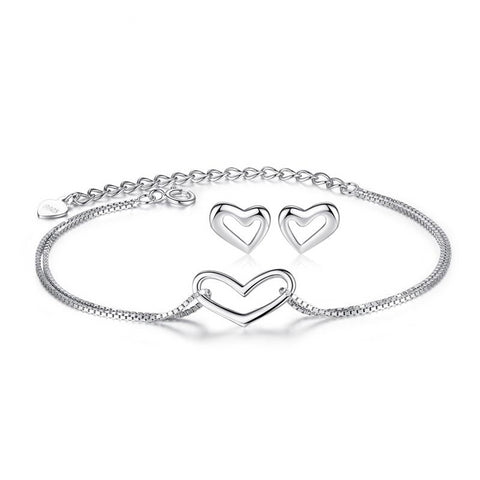 Silver Heart 925 Set™ - e-Schmuck
