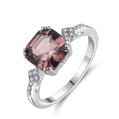 Morganite Square 925™ - e-Schmuck