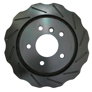 WaveSpec Black Line Rotor - Rear Right  - BMW - BMW037BL