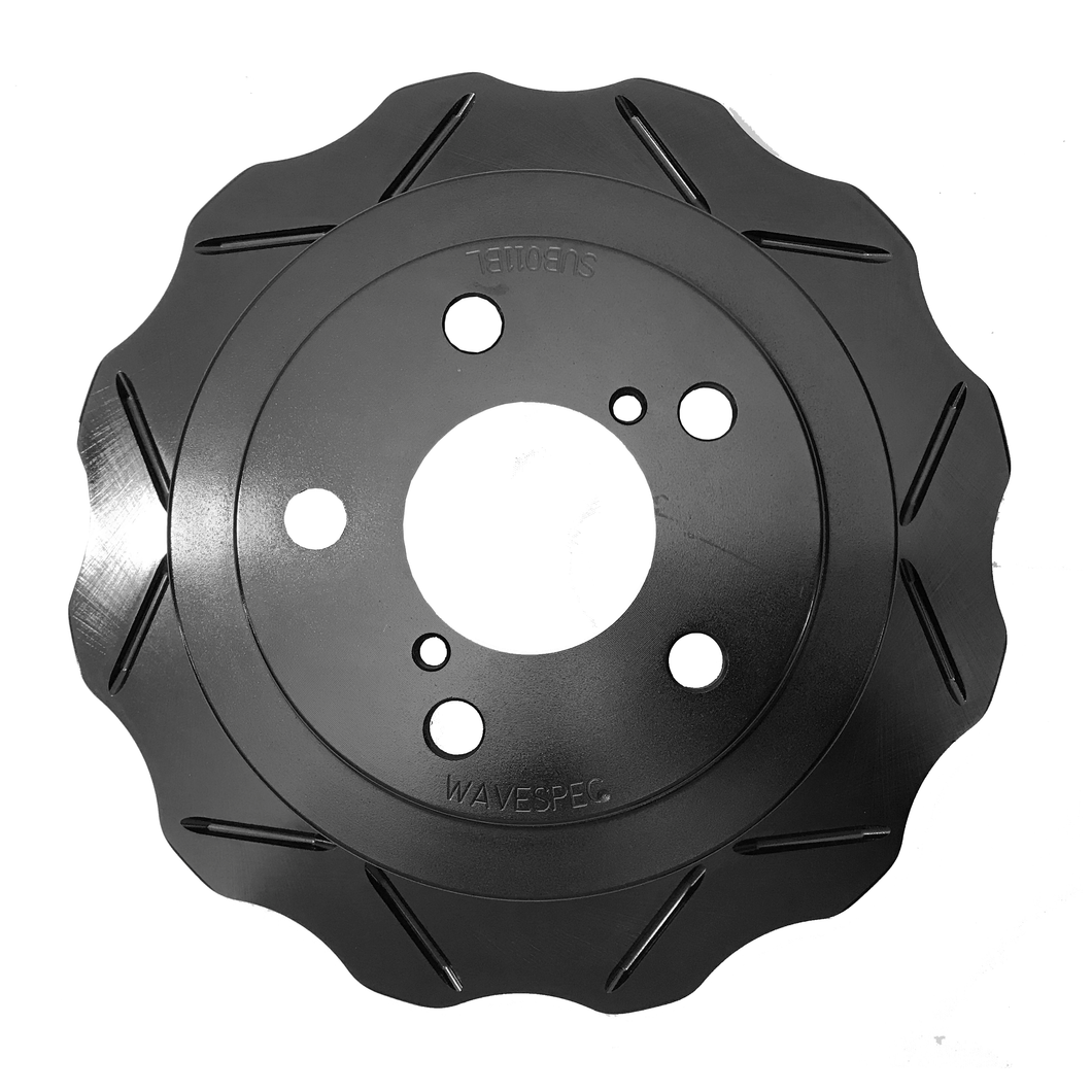 WaveSpec Black Line Rotor - Rear  - Subaru - SUB011BLZ