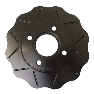 WaveSpec Black Line Rotor - Rear  - BMW - BMW047BL