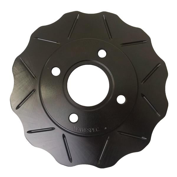 WaveSpec Black Line Rotor - Rear  -  Tesla - TES001BL