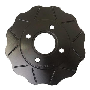 WaveSpec Black Line Rotor - Rear - Subaru - SUB023DBLZ