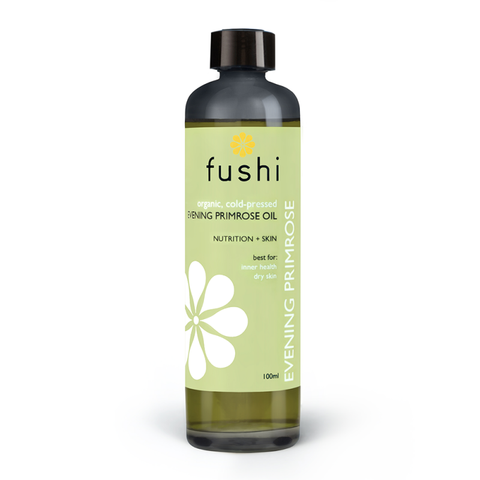 Fushi Organic Evening Primrose (Νυχτολούλουδο) Organic Oil Virgin 100ml GLA 10% Fresh-Pressed - mykarma.gr
