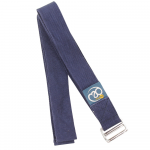 Yoga Mad - Ιμάντας -Yoga Belt Navy D Ring.2m x 3,8cm. - mykarma.gr
