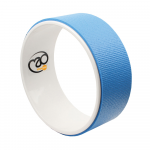 Yoga Mad-Yoga Wheel Light Blue-block.33cm x 6mm (1,4kg) - mykarma.gr