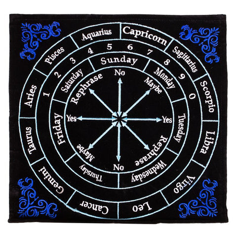 Pendulum mat astrology. Μέγεθος: 30x30 εκ. - mykarma.gr