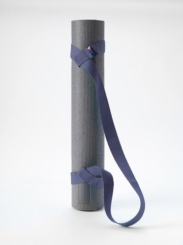 YogaMatters - Ιμάντας Μεταφοράς-Mat Carry Strap Navy Blue.185cm x 3,7cm (100g)