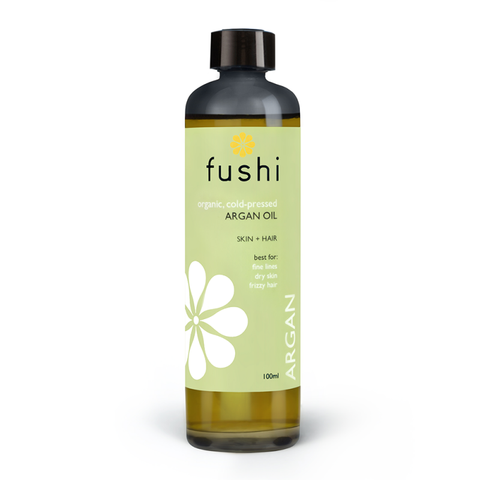 Fushi Organic  Argan Moroccan Organic Oil Virgin 100ml Fresh-pressed - mykarma.gr