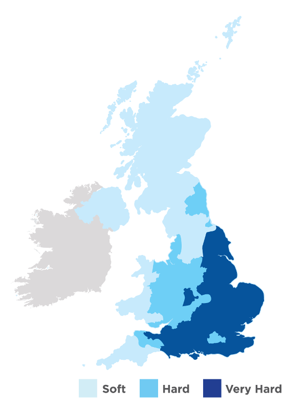 UK Hard Water Map