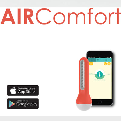 Aircomfort Bluetooth Thermometer / Hygrometer reader