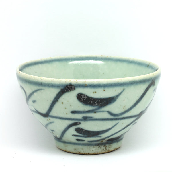 "Hand Painted Antique Style Cup ""Switchbacks"""