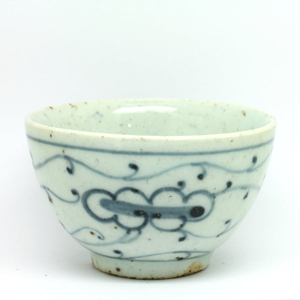 "Hand Painted Antique Style Cup ""Orchard"""