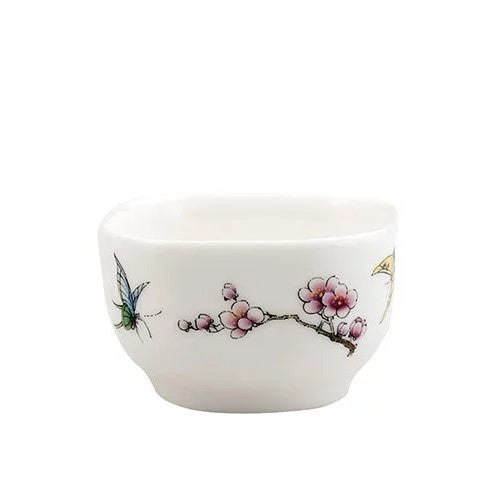 Flowers and Butterflies Cup