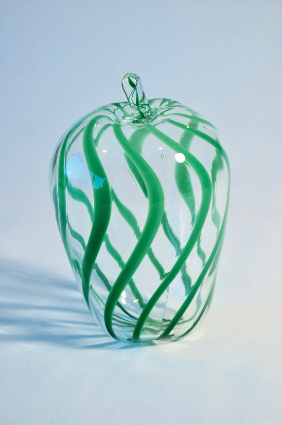 Green Striped Apple