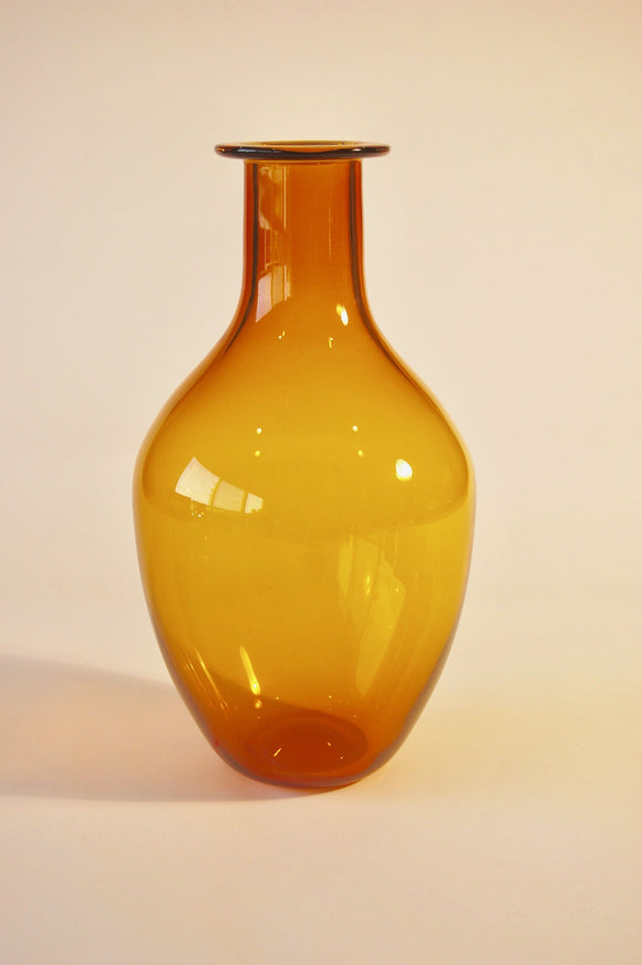 Amber Apothecary Vase