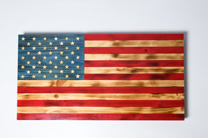 America the Beautiful- Handmade flag