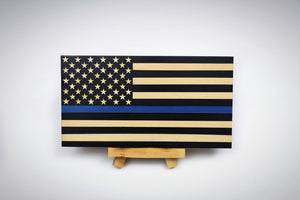 "Thin Blue Line ""Mini"" Flag"