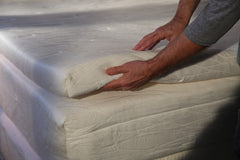 The Talalay latex foam layer in the Luma Sleep mattress helps regulate surface temperature