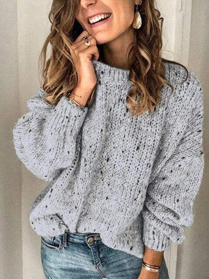 Boho Beach Hut Sweater, Clearance Sexy Off Shoulder Sweater