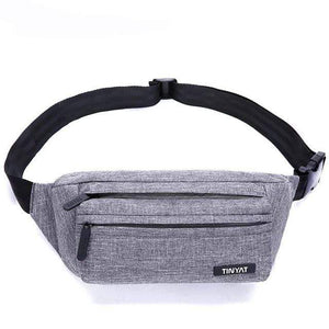 Boho Beach Hut Waist Packs Gray Super Light Adjustable Fanny Pack