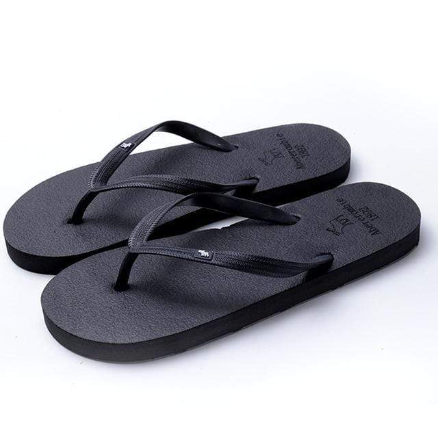 Boho Beach Hut Women's Footwear Black / 5 Beach Flip Flops 8 Colors