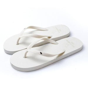 Boho Beach Hut Women's Footwear White / 5 Beach Flip Flops 8 Colors