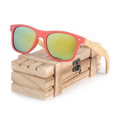Boho Beach Hut Women's Sunglasses Green BOBO BIRD Wooden Polarized Sunglasses