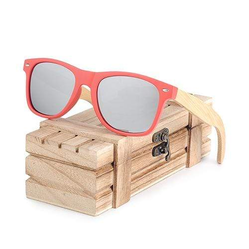Boho Beach Hut Women's Sunglasses Silver BOBO BIRD Wooden Polarized Sunglasses