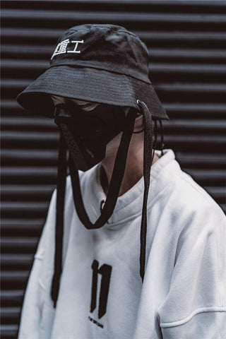 Industrial 11 Kanji Bucket Hat