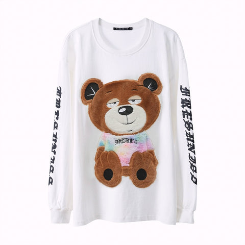 Gothic Young Teddy Long Sleeves Tee