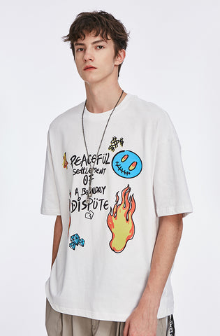 Doodle Destruction Art Tee - Dominated Inc