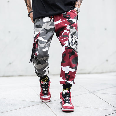 Pantalon Jogger Camo Double Couleur