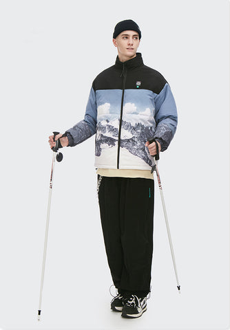 Snowy Mountain Winter Jacket