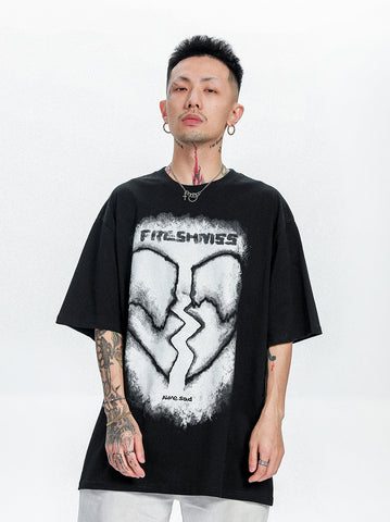 Broken Heart Tee - Dominated Inc