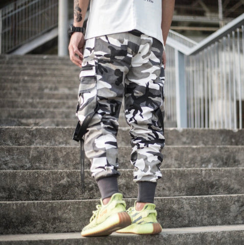Pocketed Cargo Joggers