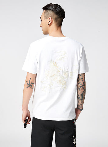 King of Monsters Embroidery Tee