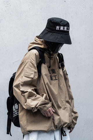 I-Tech Assasin Windbreaker Jacket